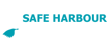 Safe Harbour Developments Inc. White Logo